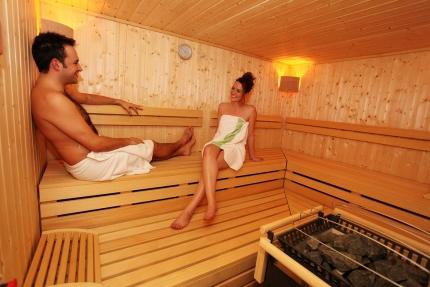 Sauna im Sporthotel ROYAL X – Sporturlaub am Millstätter See – Urlaub in Kärnten am See