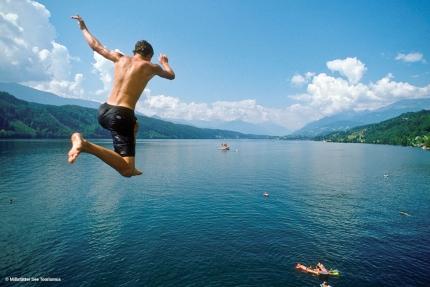 Baden im Millstätter See – Seevilla Leitner – Ferienhaus in Kärnten am See – Urlaub am Millstätter See