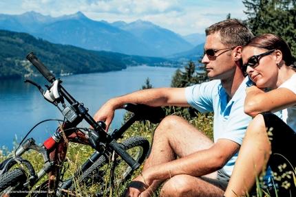 Radfahren am Millstätter See – Seevilla Leitner – Ferienhaus in Kärnten am See – Urlaub am Millstätter See