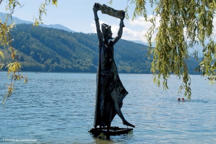 Statuenweg am Millstätter See – Urlaub am Millstätter See – Seevilla Leitner – Ferienhaus in Kärnten am See