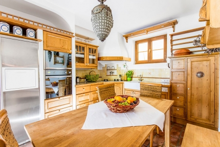 Küche – Seevilla Leitner – Urlaub im Ferienhaus – Ferienhaus am See – Urlaub in Kärnten am See