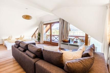 Panorama-Schlafzimmer – Seevilla Leitner – Urlaub im Ferienhaus – Ferienhaus am See – Urlaub in Kärnten am See