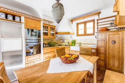 Die Küche der Seevilla Leitner – Selbstversorger – Urlaub im Ferienhaus – Ferienhaus am See – Seevilla Leitner – Urlaub in Kärnten am See