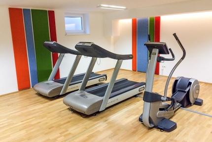 Fitnessraum beim Schwesterhotel Sporthotel ROYAL X am Millstätter See – Urlaub im Ferienhaus – Ferienhaus am See – Seevilla Leitner – Urlaub in Kärnten am See