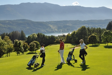 Golf am Millstätter See – Urlaub im Ferienhaus – Ferienhaus am See – Seevilla Leitner – Urlaub in Kärnten am See