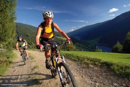 Mountainbiken am Millstätter See – Urlaub im Ferienhaus – Ferienhaus am See – Seevilla Leitner – Urlaub in Kärnten am See